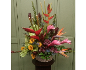 TROPICAL BASKET in Woodbridge NJ, Floral Expressions