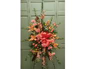 PEACH/ORANGE SPRAY in Woodbridge NJ, Floral Expressions