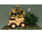 DUMP TRUCK TRIBUTE in Woodbridge NJ, Floral Expressions