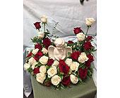 Cremation Wreath in Fairfield, Ohio, Novack Schafer Florist