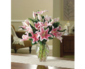 Lawrenceville Flowers - Simply Lovely Lily Bouquet - Monday Morning Flower Co