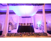 Head Table in Dearborn, Michigan, Flower & Gifts By Renee