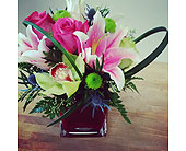 Stargazer delight in Mississauga ON, Flowers By Uniquely Yours