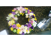 Glorious wreath in Mississauga, Ontario, Flowers By Uniquely Yours