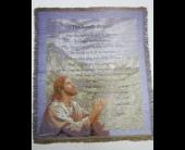 Praying Jesus Psalms 23 Throw in Oak Hill, West Virginia, Bessie's Floral Designs Inc.