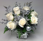 SILVER ANIVERSARY by Rubrums in Ossining NY, Rubrums Florist Ltd.