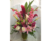 Blushing Blossoms Bouquet  in Smyrna GA, Floral Creations Florist