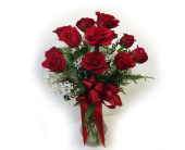 Classic Red Rose Dozen in Waterbury CT, The Orchid Florist