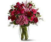 Burgundy Blush in Grand Falls/Sault NB, Grand Falls Florist LTD