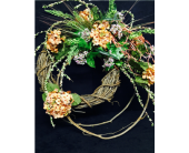 Silk wreath in Evansville IN, Cottage Florist & Gifts