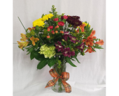 Deluxe Fall Vase in Grand Rapids MN, Shaw Florists