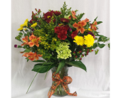 Premium Fall Vase in Grand Rapids MN, Shaw Florists