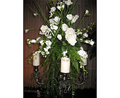 Wedding Reception in Ocala, Florida, Heritage Flowers, Inc.
