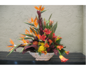 Tropical Arrangement in Ocala, Florida, Heritage Flowers, Inc.
