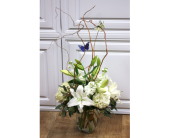 Butterfly Serenity Vase in Fargo ND, Dalbol Flowers & Gifts, Inc.