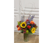 Vibrant Fields Bouquet in Fargo ND, Dalbol Flowers & Gifts, Inc.