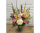 Splendid Meadow Vase in Fargo ND, Dalbol Flowers & Gifts, Inc.