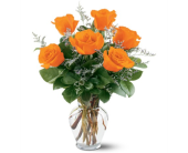 Orange Roses in Grand Rapids MN, Shaw Florists