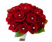 Dazzling Rose Clutch Bouquet in Dallas TX, In Bloom Flowers, Gifts and More