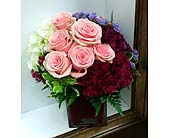 Splash of Pink in Mississauga ON, Flowers By Uniquely Yours
