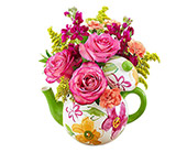 Teapot Full of Blooms (L)