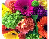 BRIGHT & BOLD BOUQUET in London ON, Posno Flowers