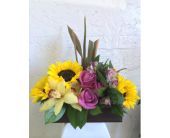 Sunny Day in West Los Angeles CA, Sharon Flower Design