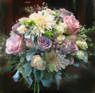 STUNNING Lavendar Wedding Bouquet in Kennewick WA, Heritage Home Accents & Floral