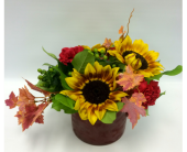 Autumn Sunflowers in Belleville ON, Live, Love and Laugh Flowers, Antiques and Gifts