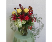 Warm colors of Fall in Redmond WA, Bear Creek Florist