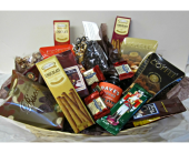 Chocolate and Coffee basket in Methuen MA, Martins Flowers & Gifts