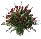 Three Dozen Premium Red Roses in Omaha NE, Capehart Floral