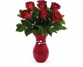 Herrin Flowers - Teleflora's Gift From The Heart Bouquet - Etcetera Flowers & Gifts