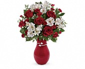 Teleflora's Pair Of Hearts Bouquet in Edmonton AB, Petals For Less Ltd.