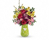 Teleflora's Hello Spring Bouquet in Scobey MT, The Flower Bin