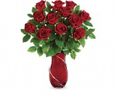 Teleflora's Wrapped In Roses Bouquet in Eau Claire WI, Eau Claire Floral