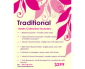 Traditional Wedding Package in Fairfax, Virginia, Exotica Florist, Inc.