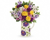 Chicago Flowers - Teleflora's Garden Blossom Bouquet - Mostly Flowers Ltd