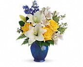 Teleflora's Oceanside Garden Bouquet in Bradenton FL, Tropical Interiors Florist