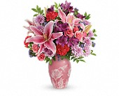 Teleflora's Treasured Times Bouquet in Muskogee OK, I'm A Basket Case Florist