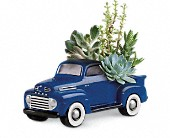 Bismarck Flowers - His Favorite Ford F1 Pickup by Teleflora - Ken's Flower Shop