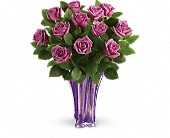 Teleflora's Lavender Splendor Bouquet in Edmonton AB, Petals For Less Ltd.