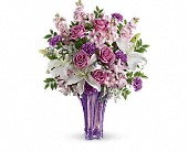 Teleflora's Lavished In Lilies Bouquet in Santa Barbara CA, Kaleidoscope Flowers