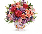 Teleflora's Wings Of Joy Bouquet in Lansing MI, Delta Flowers