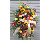 Always Remembered Spray  in Smyrna GA, Floral Creations Florist