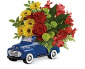 Glory Days Ford Pickup by Teleflora in Huntington Beach CA, A Secret Garden Florist