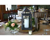 Lantern Rose Centerpiece in Asheville NC, Kaylynne's Briar Patch Florist, LLC