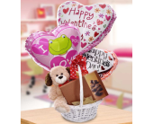 Sweet Basket of Love by Hoogasian Flowers in San Francisco CA, Hoogasian Flowers