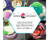 Lawrenceville Flowers - Flower Box of Cupcakes - Monday Morning Flower & Balloon Co.