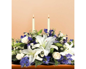 Hanukkah Lights Centerpiece in San Clemente CA, Beach City Florist